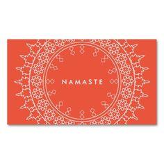 Business Card for Yoga Instructor, Yoga Studio - 100% customizable