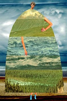 Georgia O Keeffe, Edward Hopper, Surealism Art, Collage Portrait, Portraits, Parsons School Of Design, Bachelor Of Fine Arts, Freelance Illustrator, Photomontage