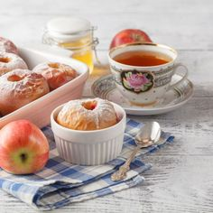 Pommes orange et abricot au Cookeo Dessert Express, Jus D'orange, Sugar Bowl, Bowl Set, Panna Cotta, Tableware, Ethnic Recipes, Kitchen, Food