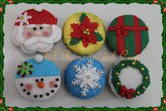 """Cupcakes Navidad """"El Rincón del Cup"""""""