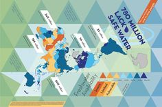 Buckminster Fuller Institute finalists to re-map the world using Dymaxion map.