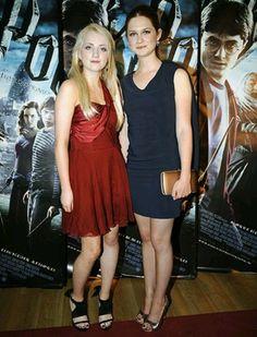 Evanna Lynch & Bonnie Wright