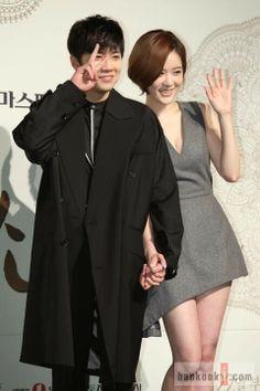 Lee Hong Ki & Yang Jin Sung at the Bride of the Century press conference