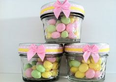 Baby shower favors...filled with gumballs or any other candy