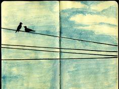 art journaling for beginners   45 Stunning Examples of Moleskine Artwork