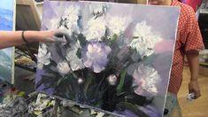How to paint bouquet of flowers, stillife   Master Class   Artist Igor S...
