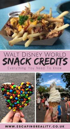 The Best Snacks on the Disney Dining Plan (DDP). How to use your Disney Snack credits wisley and get the most for your money. Plus A FREE Printable List! Disney World Essen, Disney World Food, Walt Disney World Vacations, Disney Worlds, Disney Travel, Best Disney World Restaurants, Disney World Outfits, Family Vacations, Dream Vacations