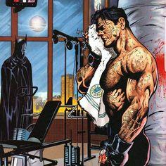 DC Batman Bruce Wayne aka Batman Rough Night Bloody and Cut Up Body Cool Towel Eases the Pain Batman Poster, Batman Artwork, Batman Wallpaper, Batman Comic Art, Im Batman, Batman Gif, Batman The Dark Knight, Batman Training, Batman Und Catwoman