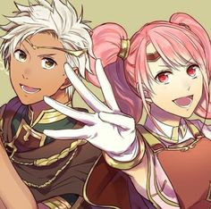 Fire Emblem Echoes: Shadows of Valentia-Mae and Boey