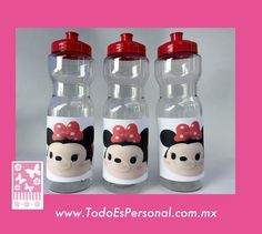 Vasos Minnie Mouse Tsum Tsum