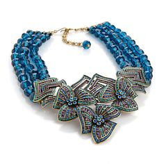 "Heidi Daus ""Gotta Have It"" 3-Row Beaded Drop Necklace at HSN.com"