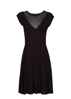 MANGO - Tül parçalı elbise