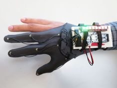 DIY Glove Controller With E-Textile Sensors