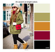 Colour schemes for winter