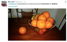 Terremoto en Madrid