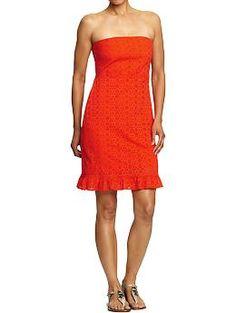 Women's Eyelet Dress
