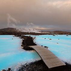 the Blue Lagoon resort in Keflavik, just south of Reykjavik in Iceland