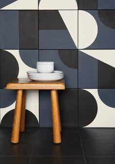 Revestimiento de pared/suelo de gres porcelánico esmaltado PUZZLE - MUTINA