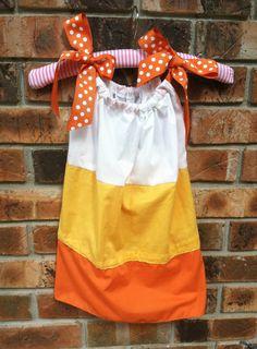 Cute Candy Corn Dress