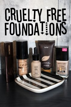 Cruelty Free Foundations That I Basically Live In  https://maepolzine.com/blog/cruelty-free-foundations-that-i-basically-live-in
