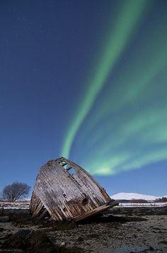 Northern lights - Tisnes by Bernt Olsen