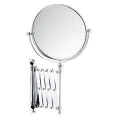 Buy John Lewis Bathroom Magnifying Mirror With Extending Arm Online At Johnlewis