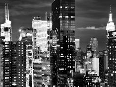 Times Square with Empire State Building, Architecture and Buildings, Manhattan, NYC Photographic Print by Philippe Hugonnard at AllPosters.com