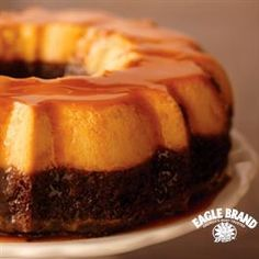 Chocolate Flan Cake from Eagle Brand®