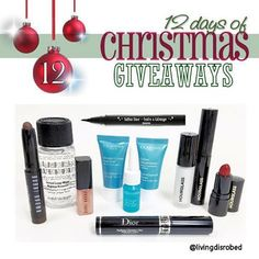 Day 12!  12 DAYS OF CHRISTMAS GIVEAWAYS! #WIN these top products from brands that you #LOVE!   Full #contest rules can be found at livingdisrobed.com Link In Bio *International  #Giveaway #12DaysOfGiveaways #12DaysOfChristmasGiveaway #Christmas #MakeupAddict #yvr #bbloggers #Makeupjunkie #makeuplover #makeupgeek #bobbibrown #hourglass #katvond #clarins #dior #Skincare #bbloggersca #beauty #beautybloggers #lipstick #liksticklover