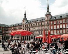 Spain - Plaza Mayor, Madrid