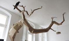 Esculturas incríveis feitas com papelão
