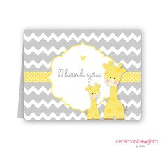 Hey, I found this really awesome Etsy listing at http://www.etsy.com/listing/161165013/baby-shower-thank-you-cards-chevron