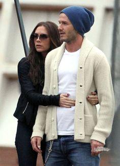 Victoria And David Beckham, gorg....