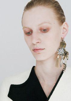 Julia Nobis for Céline Fall 14/15 lookbook photographed by Kira...