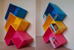 Arrow Bookshelf a Must-Have for Tetris Mongs