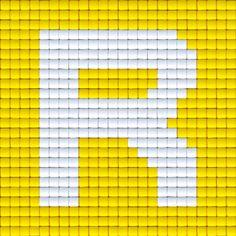 X Letter R | Pixel Party