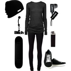 """In the end music is your only friend."" by degrassi-16 on Polyvore"