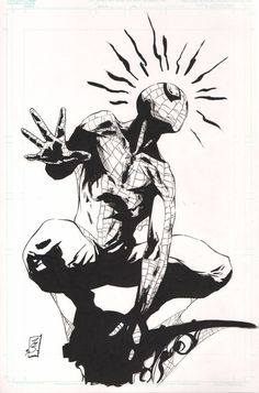 Spidey Sense by SpaciousInterior on DeviantArt Comic Book Artists, Comic Book Characters, Comic Character, Comic Books Art, Marvel Art, Marvel Heroes, Marvel Images, Spiderman Art, Amazing Spiderman