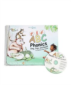 ABC Phonics Paperback & CD by Sign2Me Early Learning #zulily #zulilyfinds