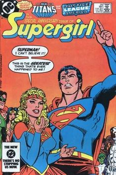 Supergirl #20 June 1984 [Direct Edition]