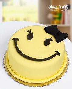 Mutlu Yüz Kız Pasta