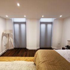Roller blinds from our basics range made and fitted for an apartment in Paddington l Made to measure blinds Blinds Inspiration, Made To Measure Blinds, Bedroom Blinds, Brighton And Hove, Roller Blinds, Contemporary, Range, Interiors, Furniture