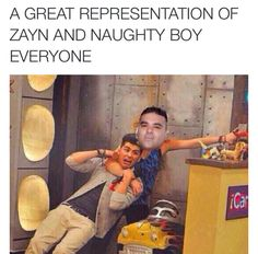 This is the best representation of Zayn and naughty boy #wewillmissyouzayn