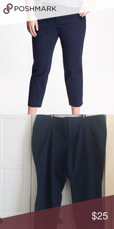 NWOT old navy chino NWT smooth and slim pixie chino in navy, bought online and never wore, not sure I accidentally ripped the tag off or maybe it didn't come with one Old Navy Pants Ankle & Cropped