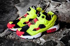 REEBOK INSTA PUMP FURY OG CITRON #sneaker
