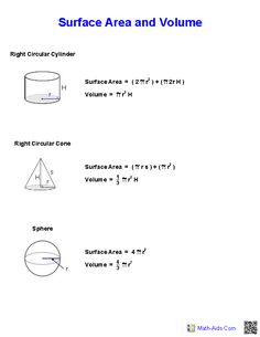Worksheets Geometry Surface Area And Volume Worksheets 17 best images about volume worksheets surface area and handout geometry ideasmath geometrygeometry worksheetsvolume