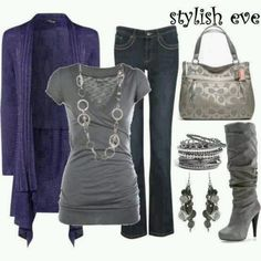 Silver, Grey & Purple Crush