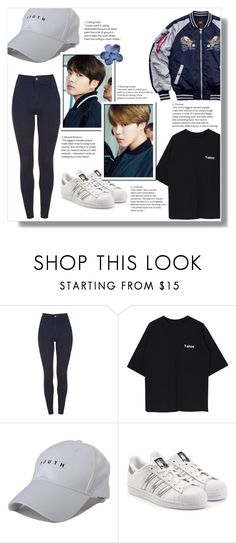 """""""Dare to run"""" by jungshook ❤ liked on Polyvore featuring adidas Originals and Alpha Industries"""