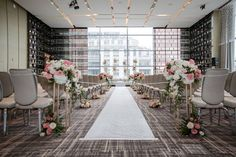 Stephanie and Teddy's gorgeous wedding captured by AGI Studio is a perfect blend of delicate and refined details with a dash of modern flair! Magical Wedding, Chic Wedding, Wedding Ceremony, Bridal Decorations, Table Decorations, Four Seasons Hotel, Dance The Night Away, Davids Bridal, Modern Minimalist
