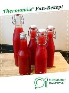 Erdbeer-Limes von Chris76. Ein Thermomix ® Rezept aus der Kategorie Getränke auf www.rezeptwelt.de, der Thermomix ® Community.